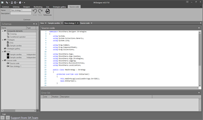 C# editor